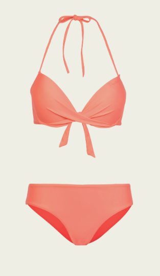 stylish pushup bikini for winter sun