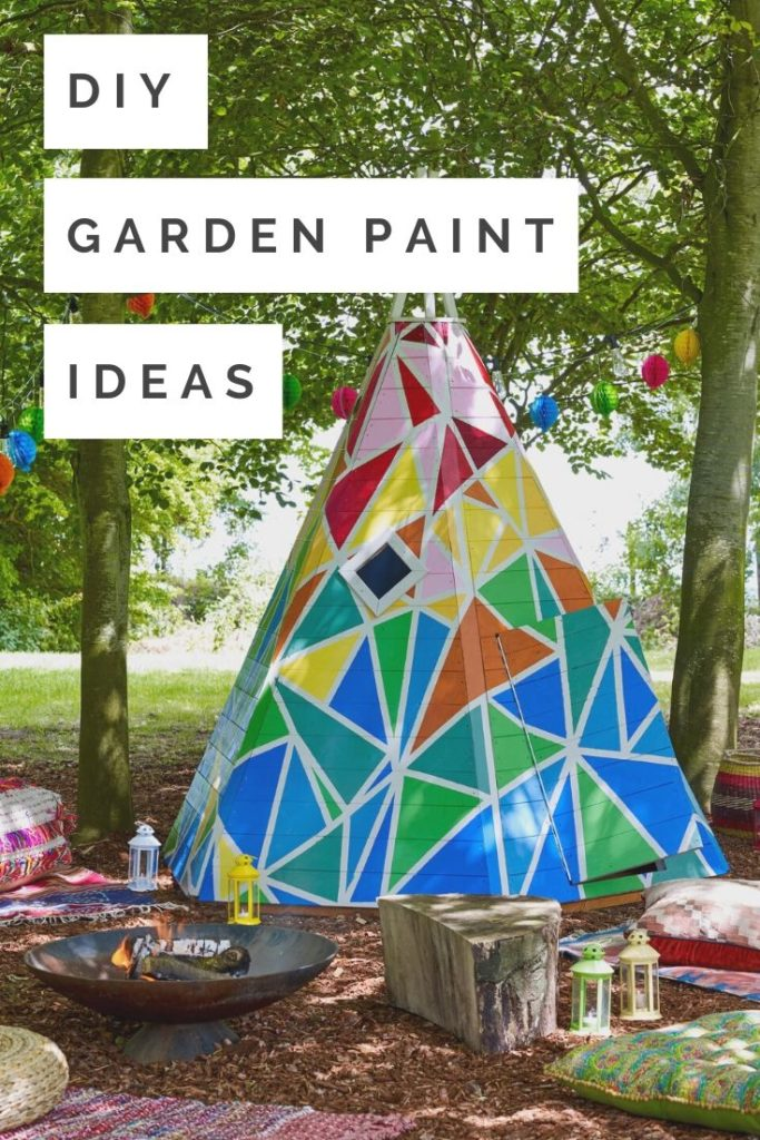 With summer just around the corner, now is the ideal time to vamp your outdoor space with these gorgeous garden paint ideas with design advice from interior stylist Maxine Brady