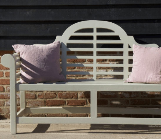 It doesn't matter if you have a large family-sized garden, a small balcony or an urban garden like mine - there is one classic designer item that will elevate your outdoor space that is a worthy investment - the Lutyens bench.