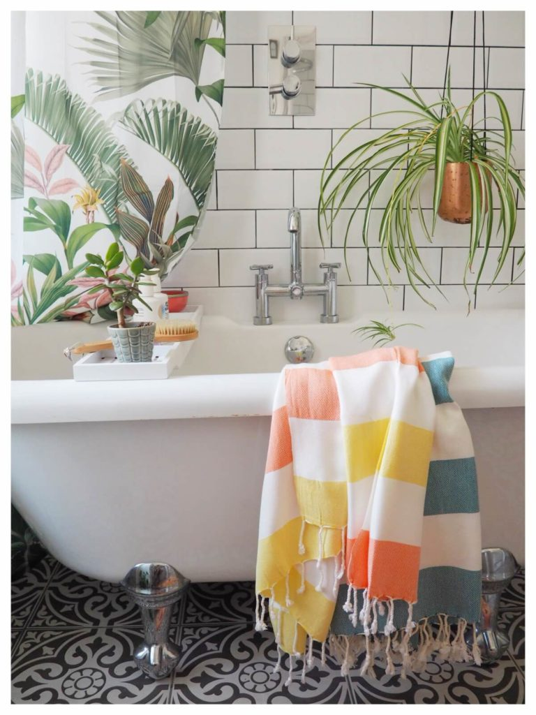 Tips on how to give your bathroom a summer refresh using the tropical trend with these 7 key buys - Maxine Brady from We Love Home