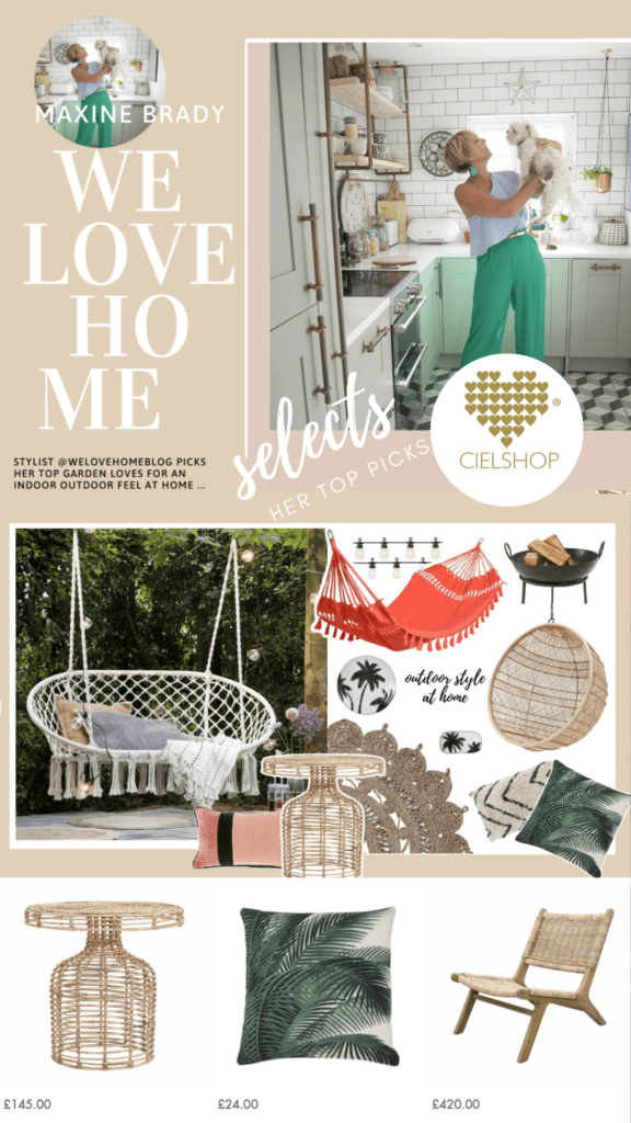 I'm excited to announce the launch of my new garden collection for Cielshop Interiors. The collection is an edited pick of 8 covetable items.