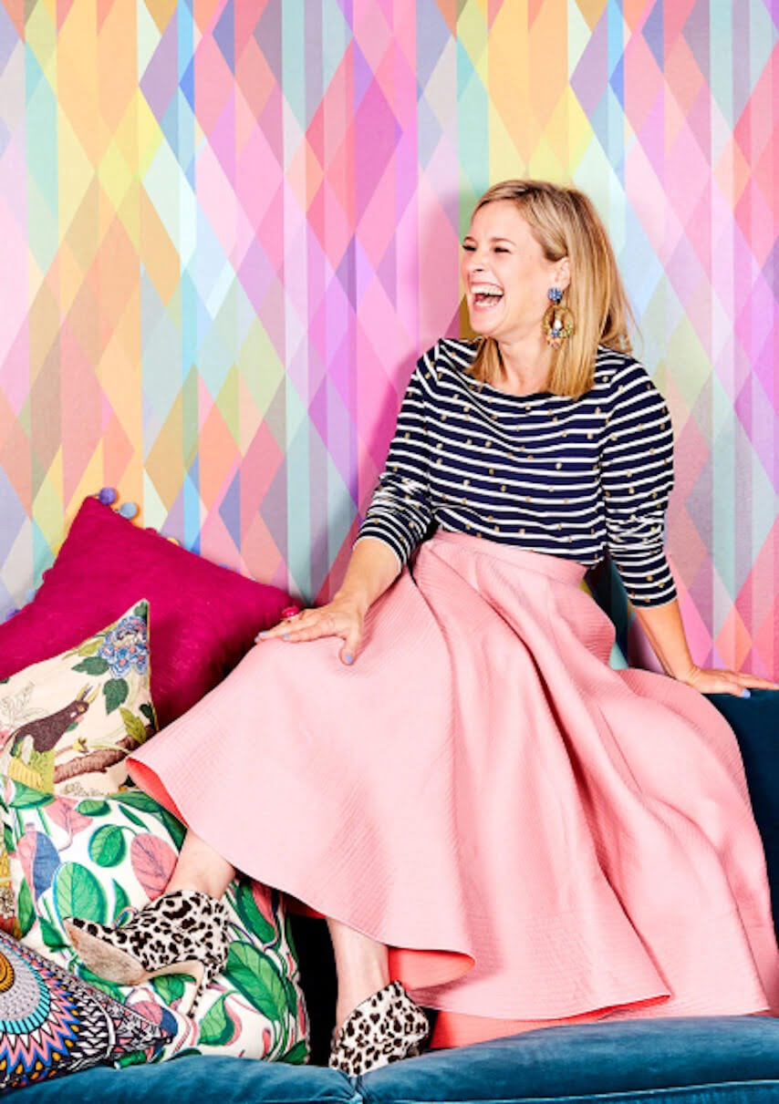 Interior Designer and TV presenter - and the QUEEN OF COLOUR Sophie Robinson shares her top tips on how to decorate with colour confidently in your home.