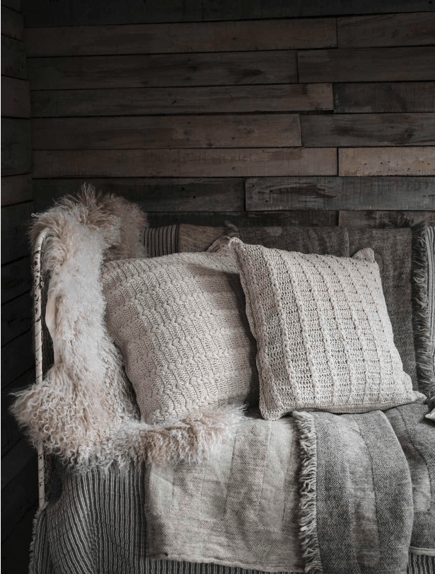 Expert cosy styling tips to help you enjoy your winter garden for longer by interior stylist Maxine Brady