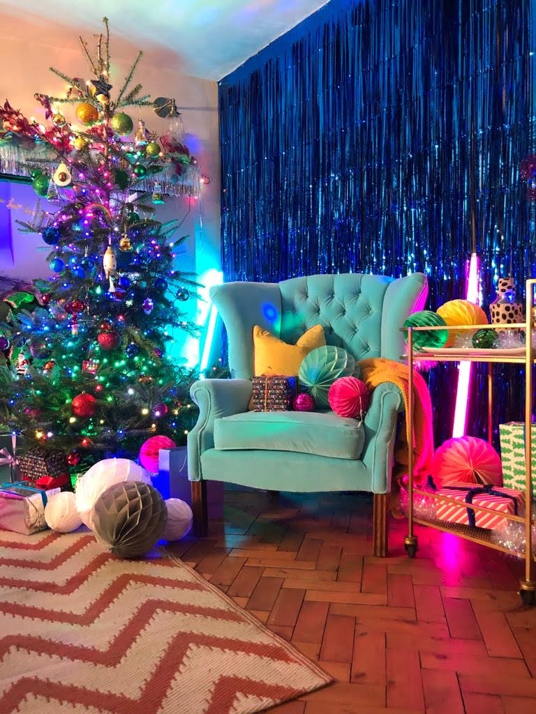 My new TV show called Incredible Christmas Trees & How To Decorate Them is now out on Channel 5 says Maxine Brady