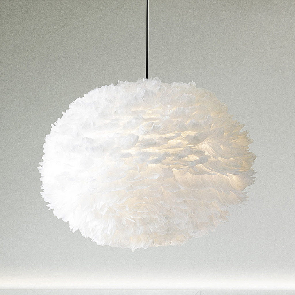 Be the first to see the plans for my bedroom makeover- (hint it has a coral wallpaper!) feather eros light fitting