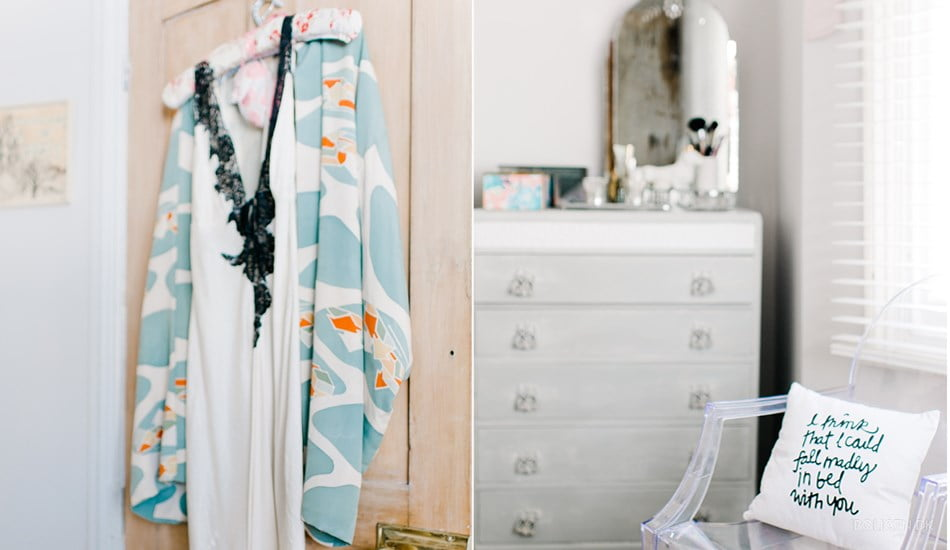 Be the first to see the plans for my bedroom makeover- (hint it has a coral wallpaper!) Vintage furniture
