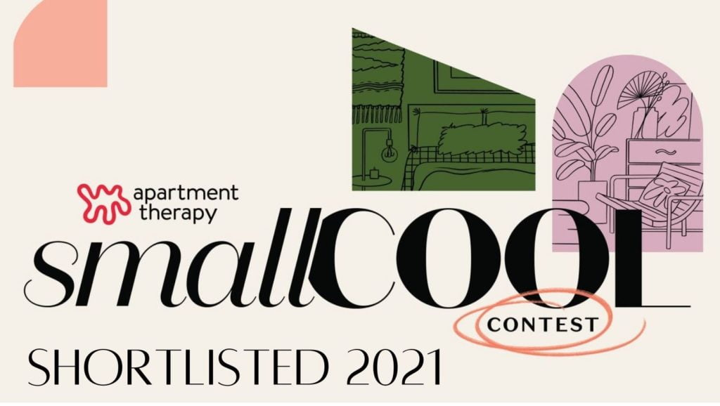 Interior Stylist Maxine Brady is shortlisted by style bible - Apartment Therapy SMALL COOL awards 2021.