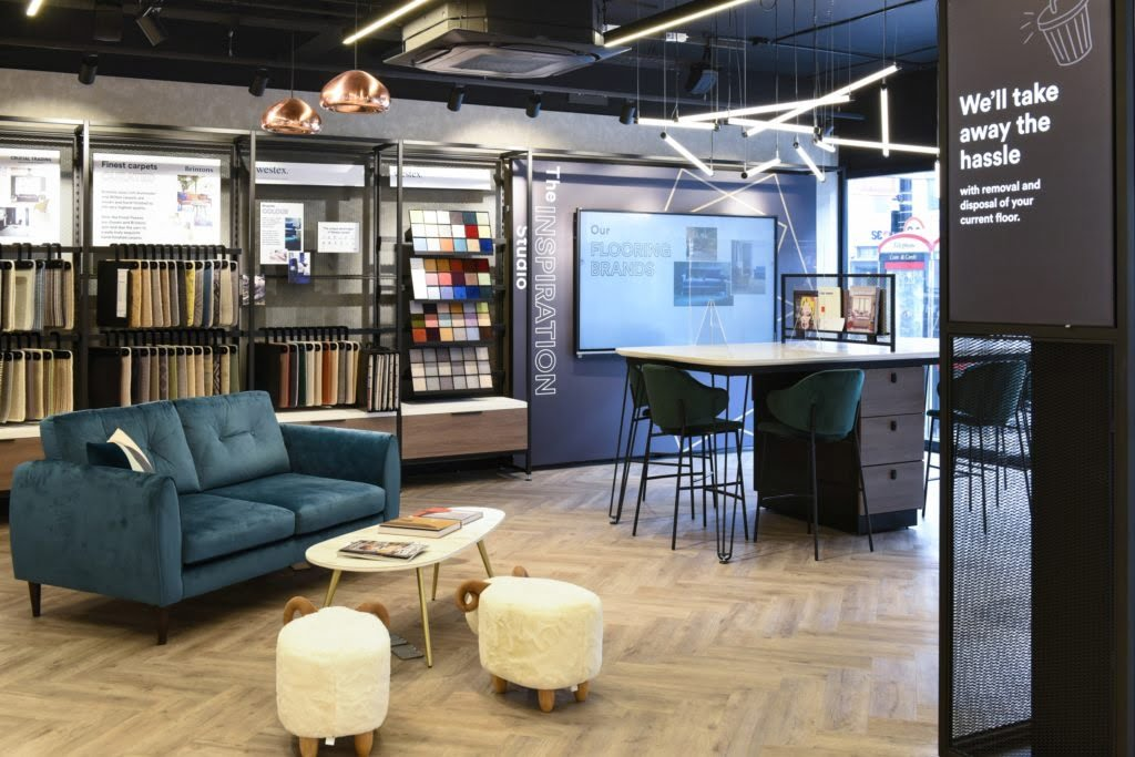 If you are thinking of updating your flooring, then you have to make a stop at The Floor Room.  This brand new flagships store is an interior stylist's dream! Says Maxine Brady