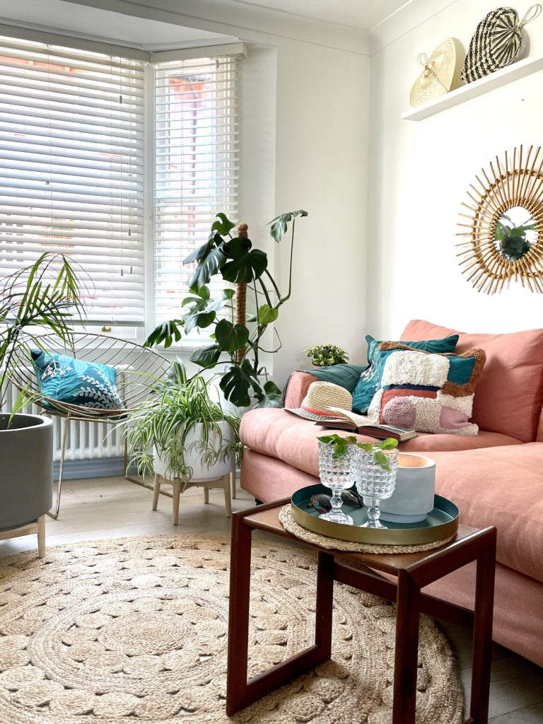 Nature is a great mood booster! And what better way to bring that feeling home than creating an indoor garden using the latest Spring Summer trend for 2021 Outside In.