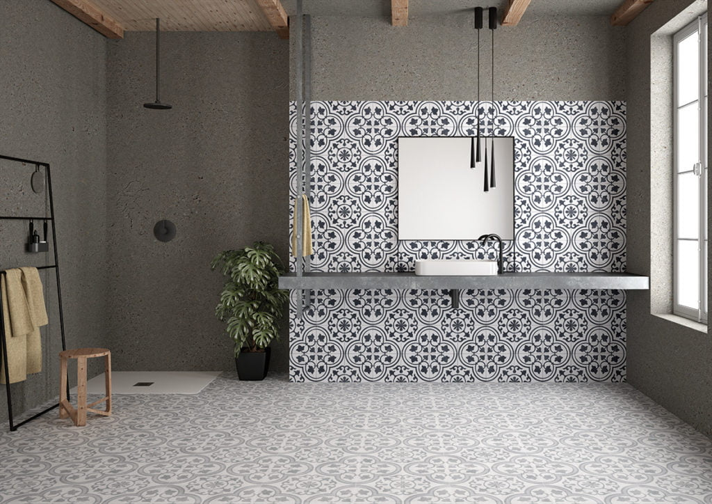 If you want to add creative flair to your bathroom or maybe an element of surprise to your new en-suite, then pattern tiles could be just your thing.  Follow these 6 styling tips on how to use patterned tiles in your bathroom - creating a style statement in your home!